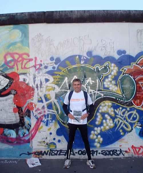 Mauerstück an der East Side Gallery