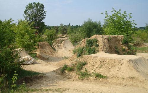 Lehm-Gelände