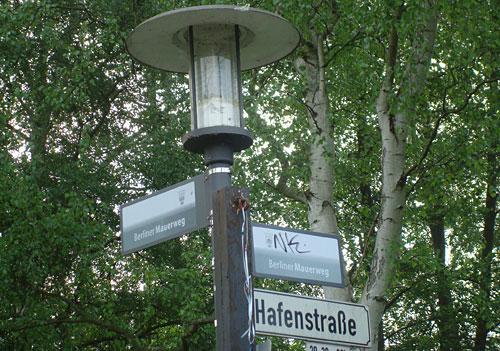 Ankunft am Startpunkt Hafenstraße