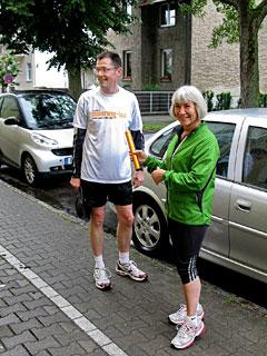 Läufer-Team 12 ist angekommen