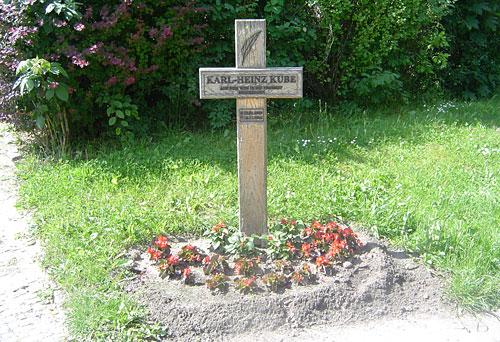 Mahnkreuz für das Maueropfer Karl-Heinz Kube
