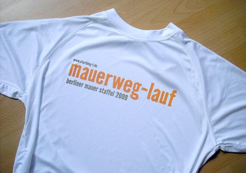 Mauerweg-Lauf-Shirt
