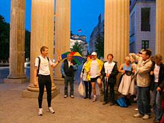 Ansprache am Brandenburger Tor