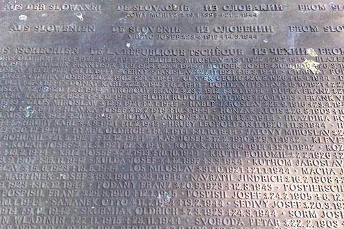 Namen der Opfer des Arbeitserziehungslagers