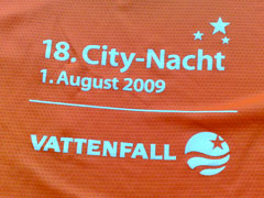 City-Nacht Laufshirt