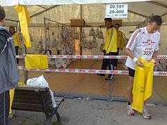 Kleiderbeutel-Zelt