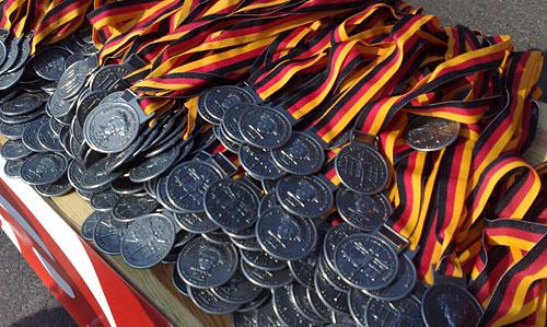 Die Medaillen