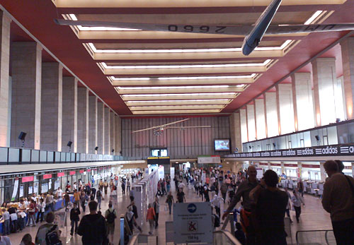 Flughafen Tempelhof - Abfertigungshalle