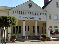 Gebäude der Kurverwaltung