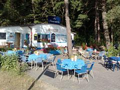 Sommercafé an der Promenade
