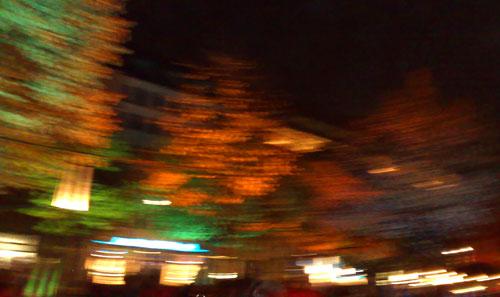 Unter den Linden beim Human Race Light Run