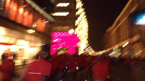 Läufer auf der Friedrichstraße