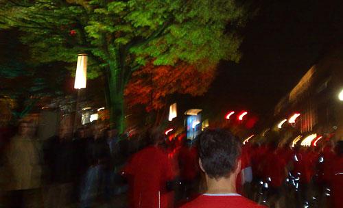 Läufer Unter den Linden