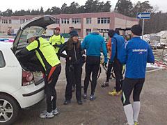 Läufer am Europarc Dreilinden