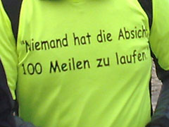 Lauf-Shirt zum Laufereignis 2011