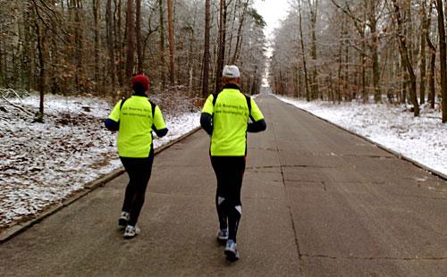 Ein fast winterlicher Lauf