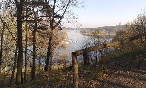 Aussicht vom Havelhöhenweg