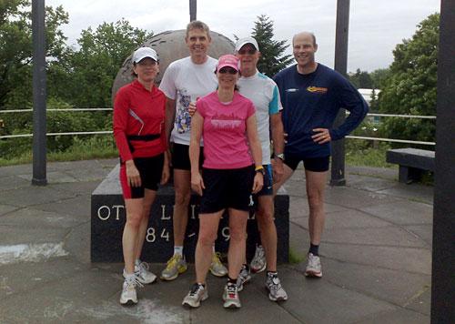 Läufer-Gruppenbild