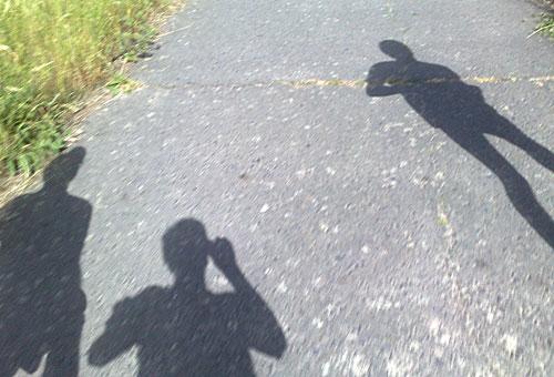 Schatten der Läufer