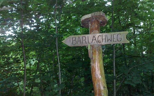 Schild Barlachweg
