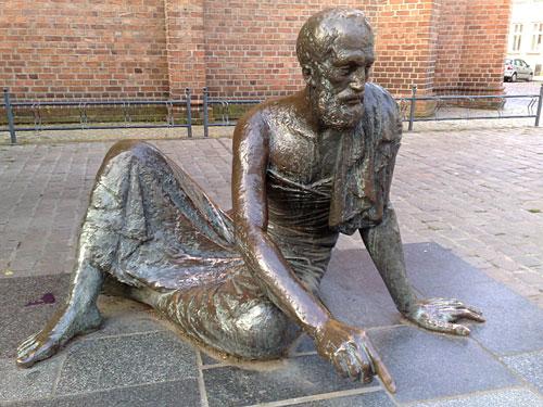 Archimedes-Skulptur