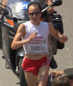 Viktor Röthlin beim Marathon