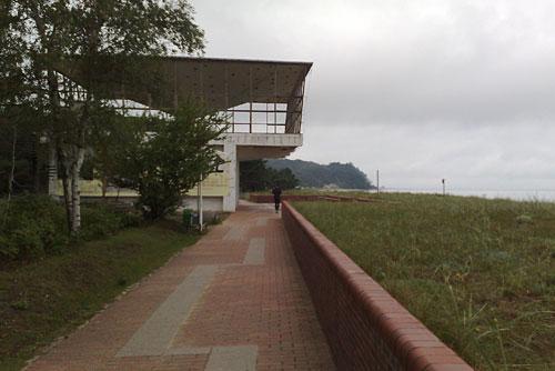 Schalenbau-Kiosk