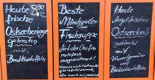 Restaurant-Schild