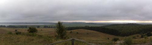 Panoramablick vom Bakenberg, Teil 1