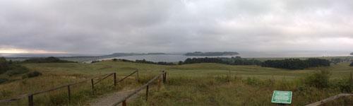 Panoramablick vom Bakenberg, Teil 2