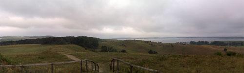 Panoramablick vom Bakenberg, Teil 3