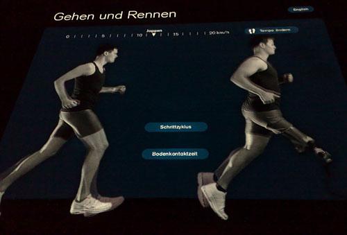 Läufer mit Prothese