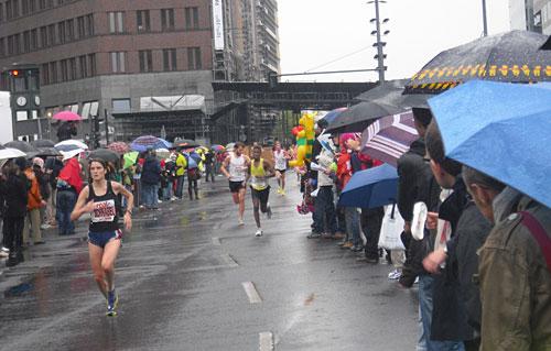 Läufer am Potsdamer Platz