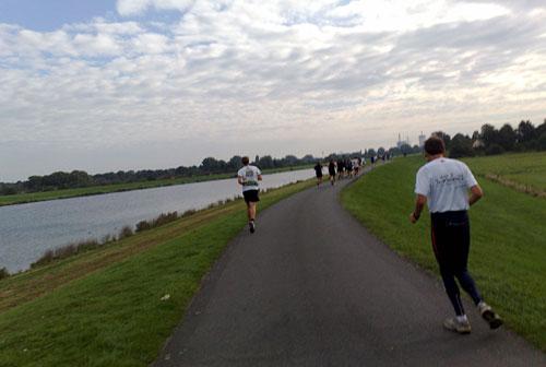 Läufer beim Bremen-Marathon 2010