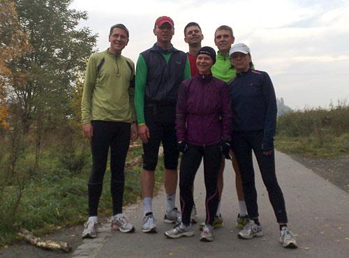 Läufer-Gruppe