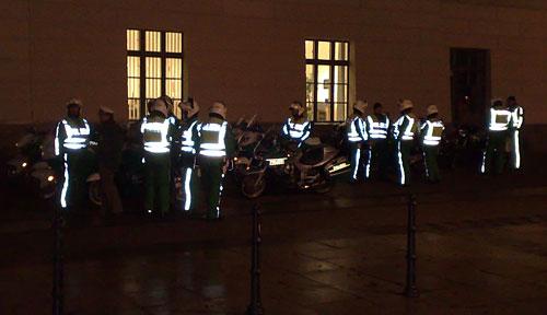 Polizei-Motorrad-Staffel