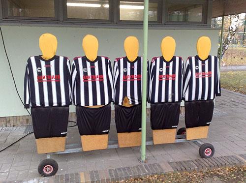 Fußballer-Dummies