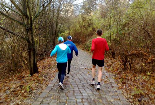 Läufer in Marienfelde