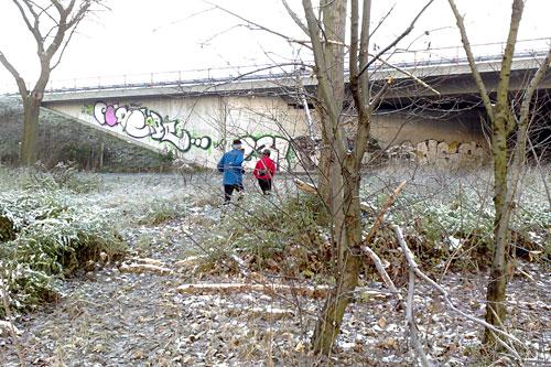 Läufer-Paar