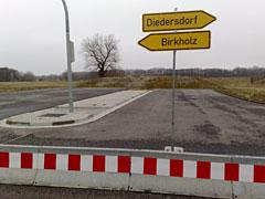 Schilder Diedersdorf und Birkholz