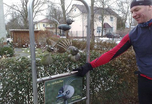 Steinvögel in Großziethen