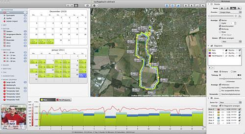 Screenshot Aktivitätskalender rubiTrack