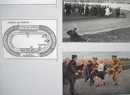 Fotos von Dorando Pietri beim London-Marathon 1908