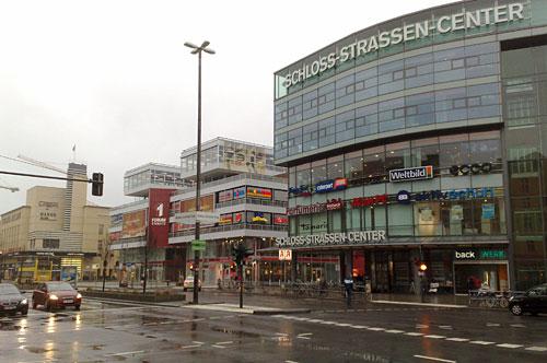 Einkaufscenter in der Berliner Schlossstraße