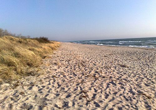 Strand und Ostsee in Dänemark