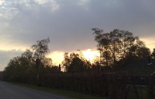Sonnenaufgang auf Falster