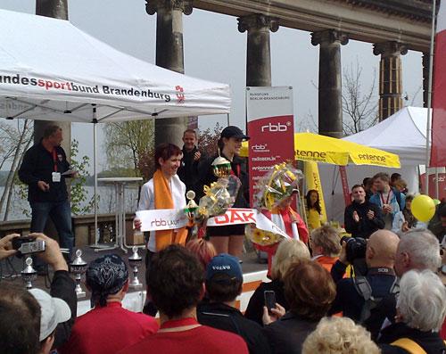 Siegerinnen des Drittelmarathon Potsdam 2011, 8. RBB-Lauf