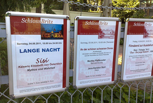 Plakate: Lange Nacht - Sisi