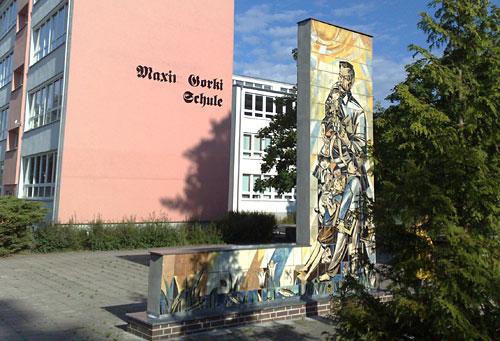 Gebäude der Maxim-Gorki-Schule