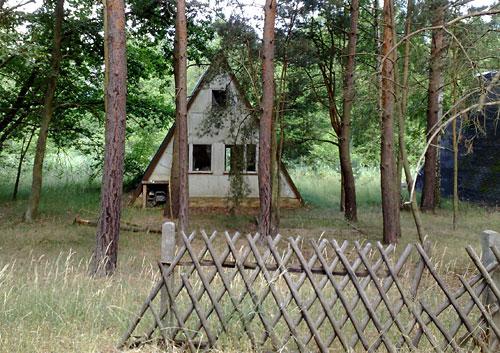 Verfallene Ferienhäuser